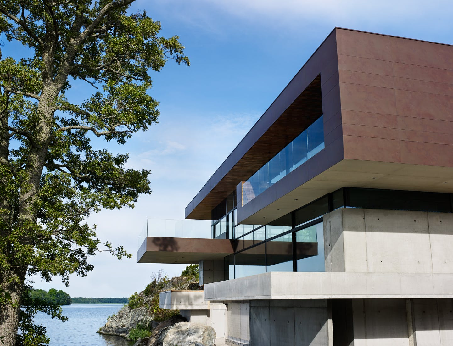 The skin of the structure  - Skallan house 43
