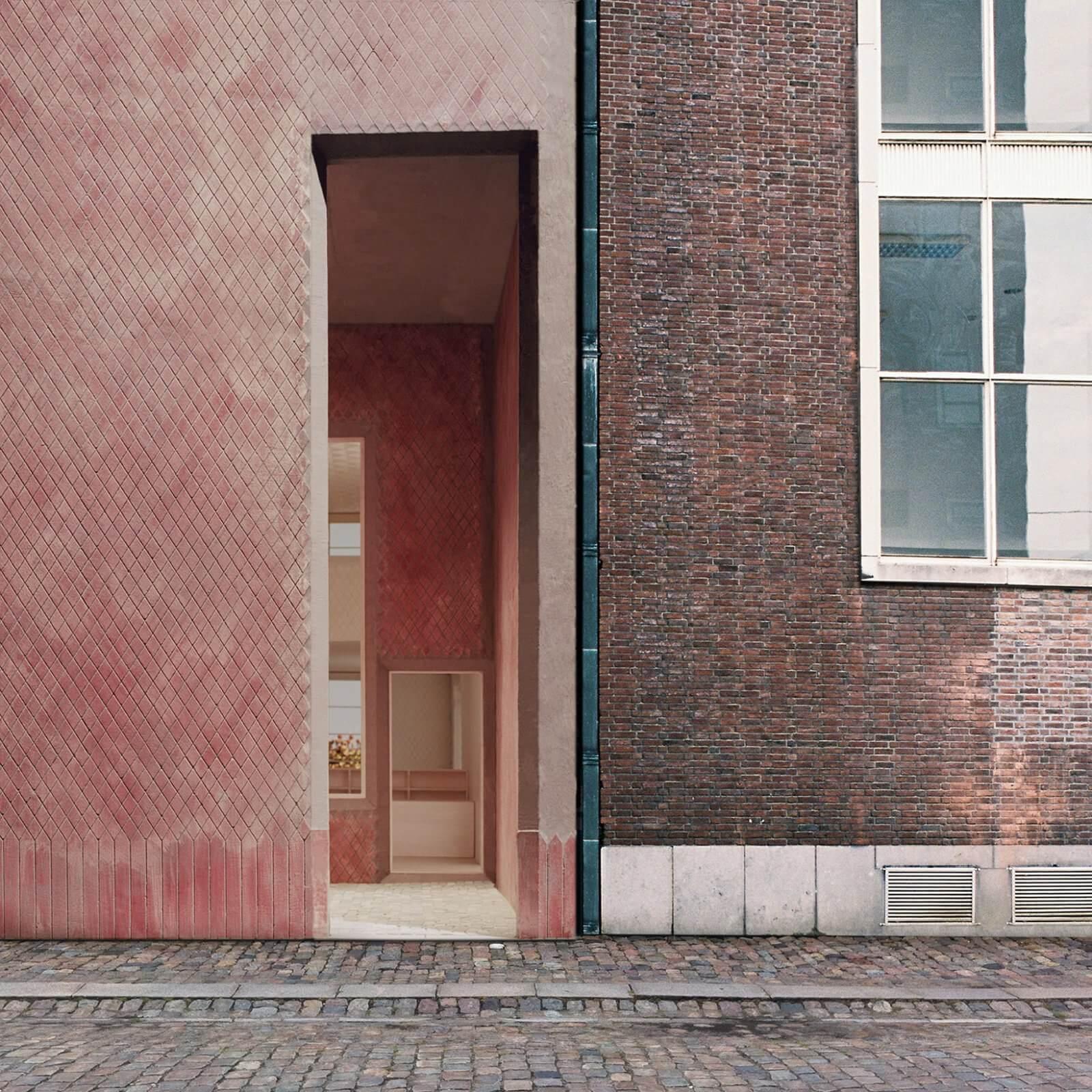 Z33  - 2 facade entrance street 35