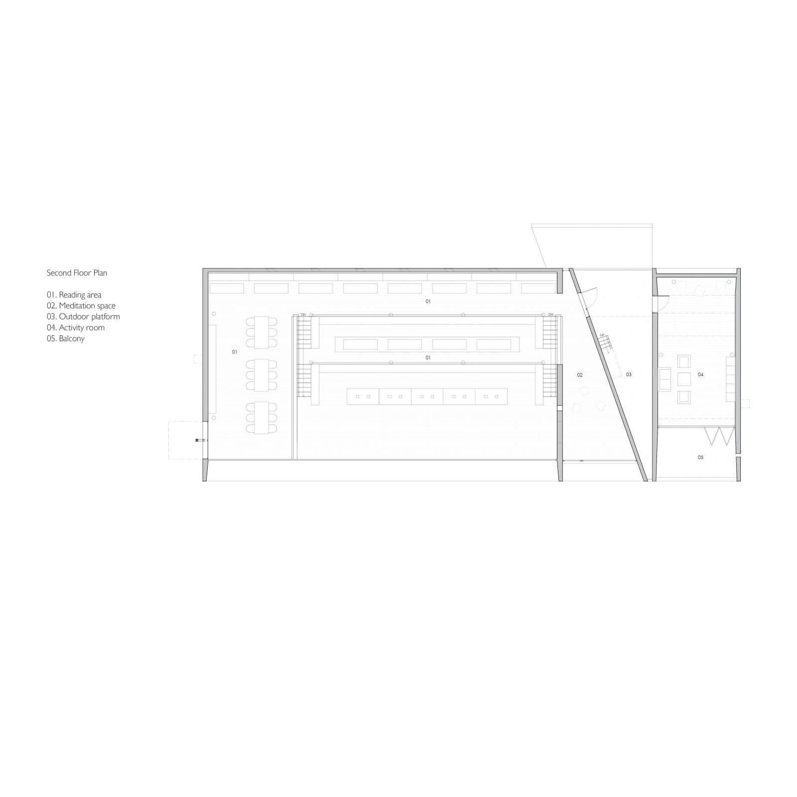 Seashore Library  - 2f plan 43