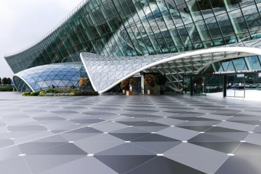 Dekton: Durable, resistant and versatile flooring  - Baku airport 6 dekton id 1 34