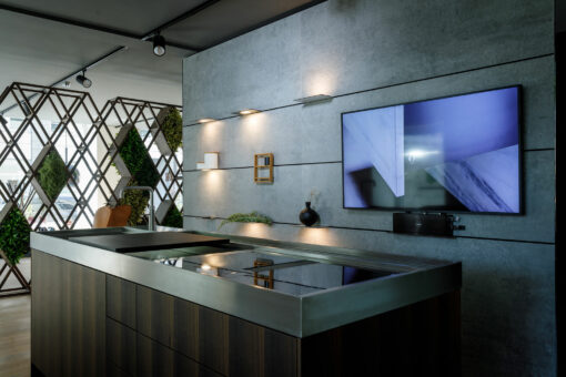 The wall  - Dekton Wall 1 42