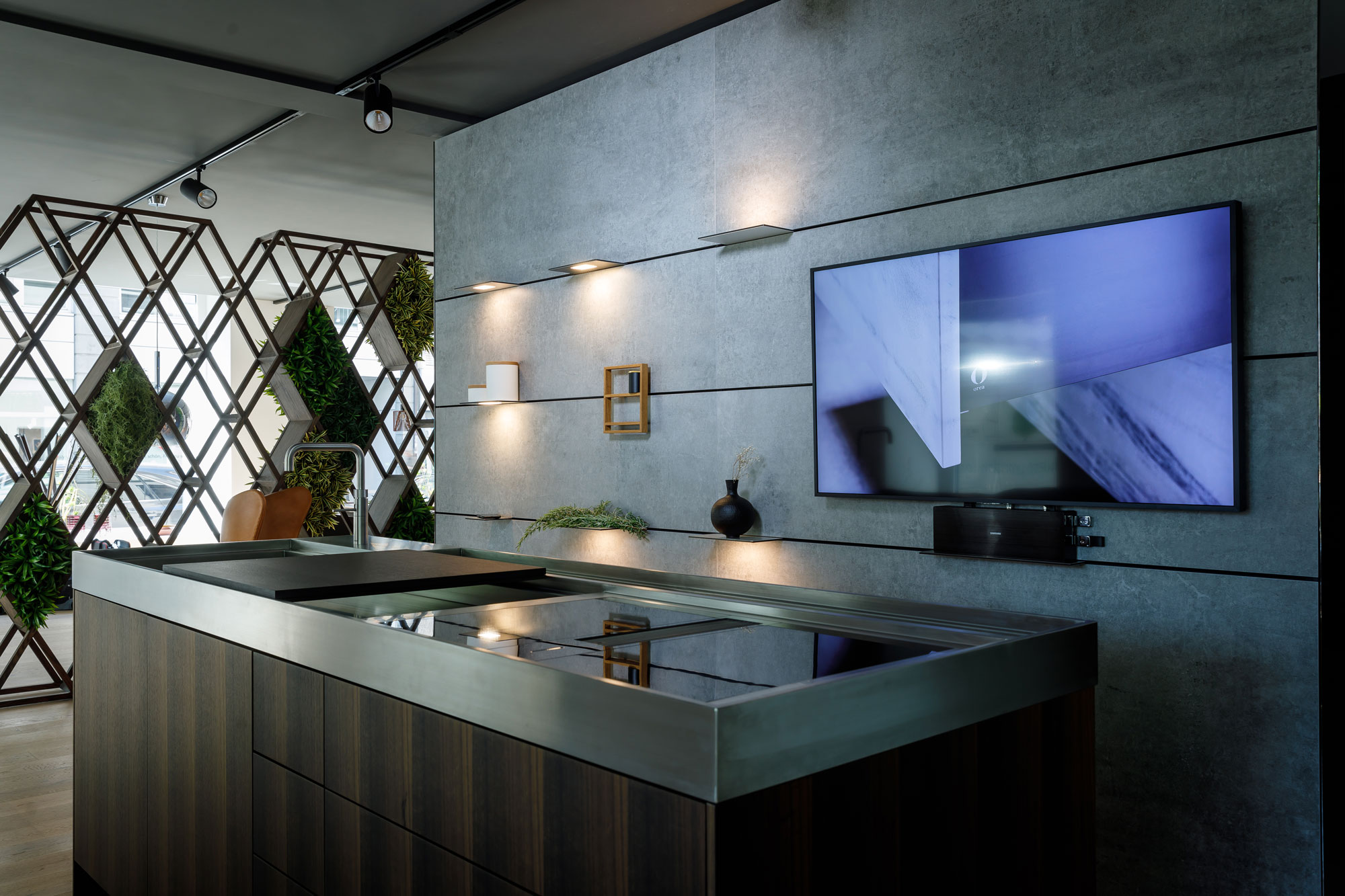 The wall  - Dekton Wall 1 50