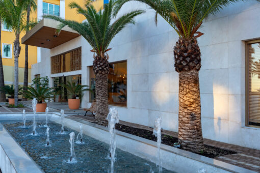 Casas Colgadas  - Hotel Mediterraneo Park 5 Dekton Silestone Piedra Natural Cosentino 49
