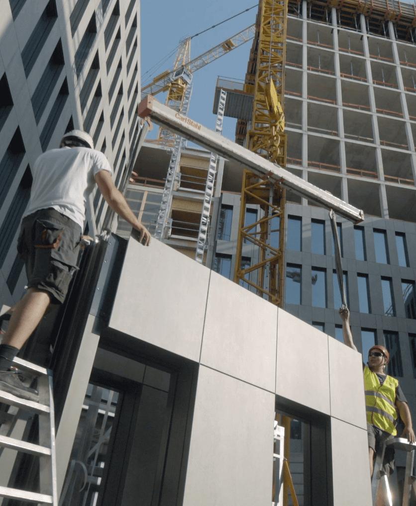 Gevelinstallateurs  - Instaladores de fachadas 31