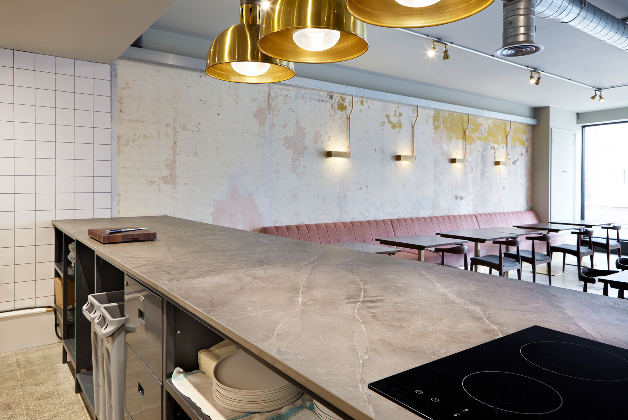 Vanderlyle restaurant  - Vanderlyle restaurant Dekton 5 53