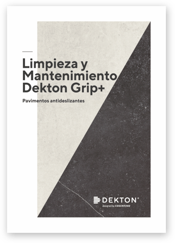 Dekton: Durable, resistant and versatile flooring  - mantenimiento dekton grip 117
