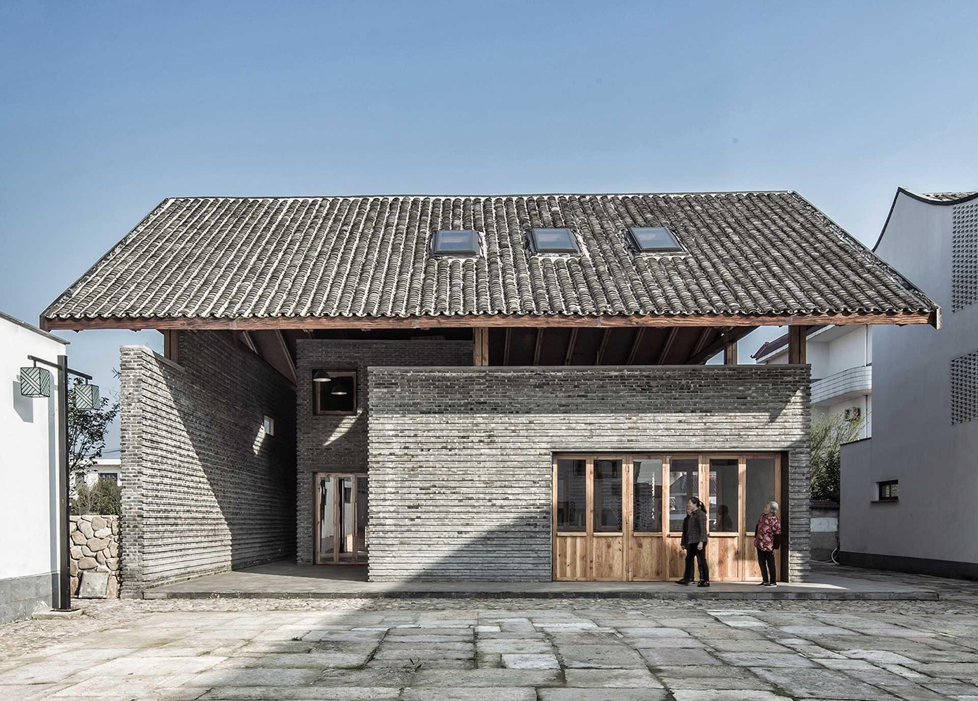 Centro comunitario en Dongziguan  - 01 fuyang 31
