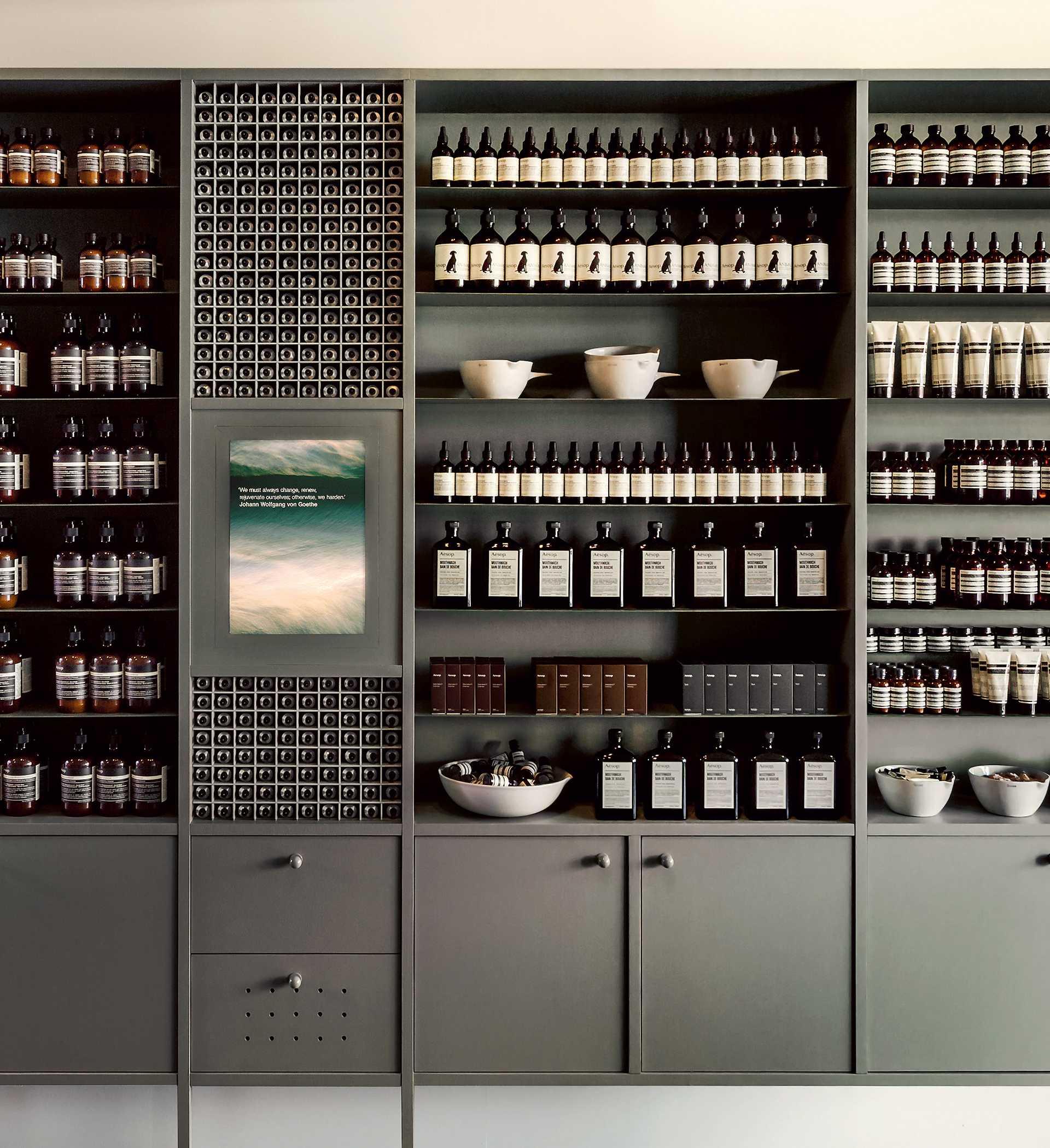 Aesop Stores  - 10 15 63