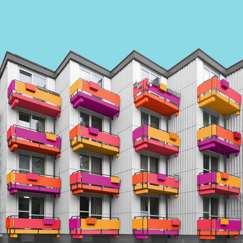 A Colorful Makeover of Architecture  - 14 8.2 52