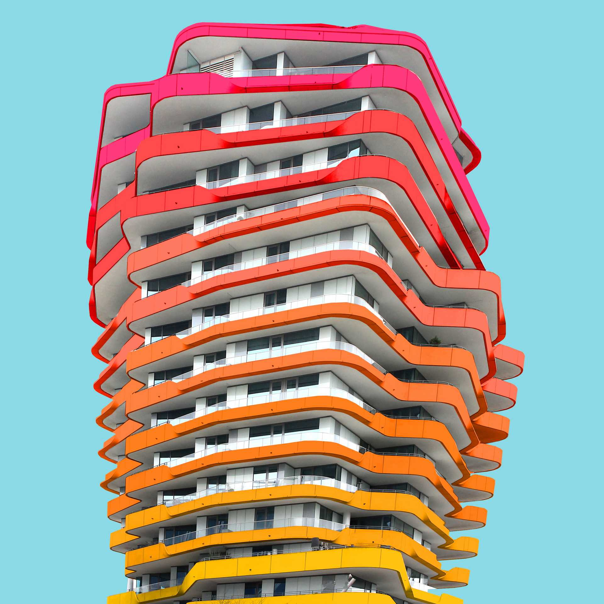A Colorful Makeover of Architecture  - 29 5 43