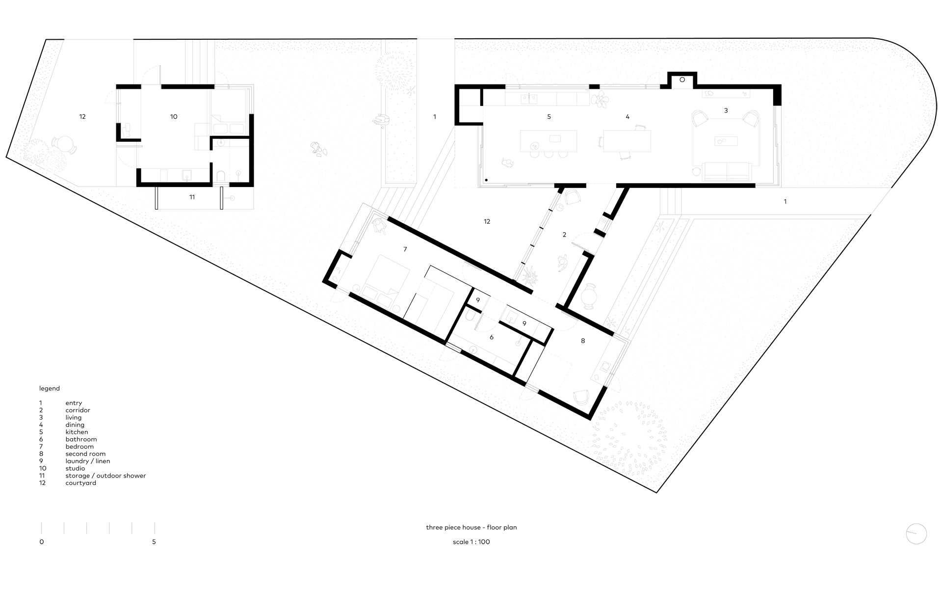 Three Piece House  - 29 9 51