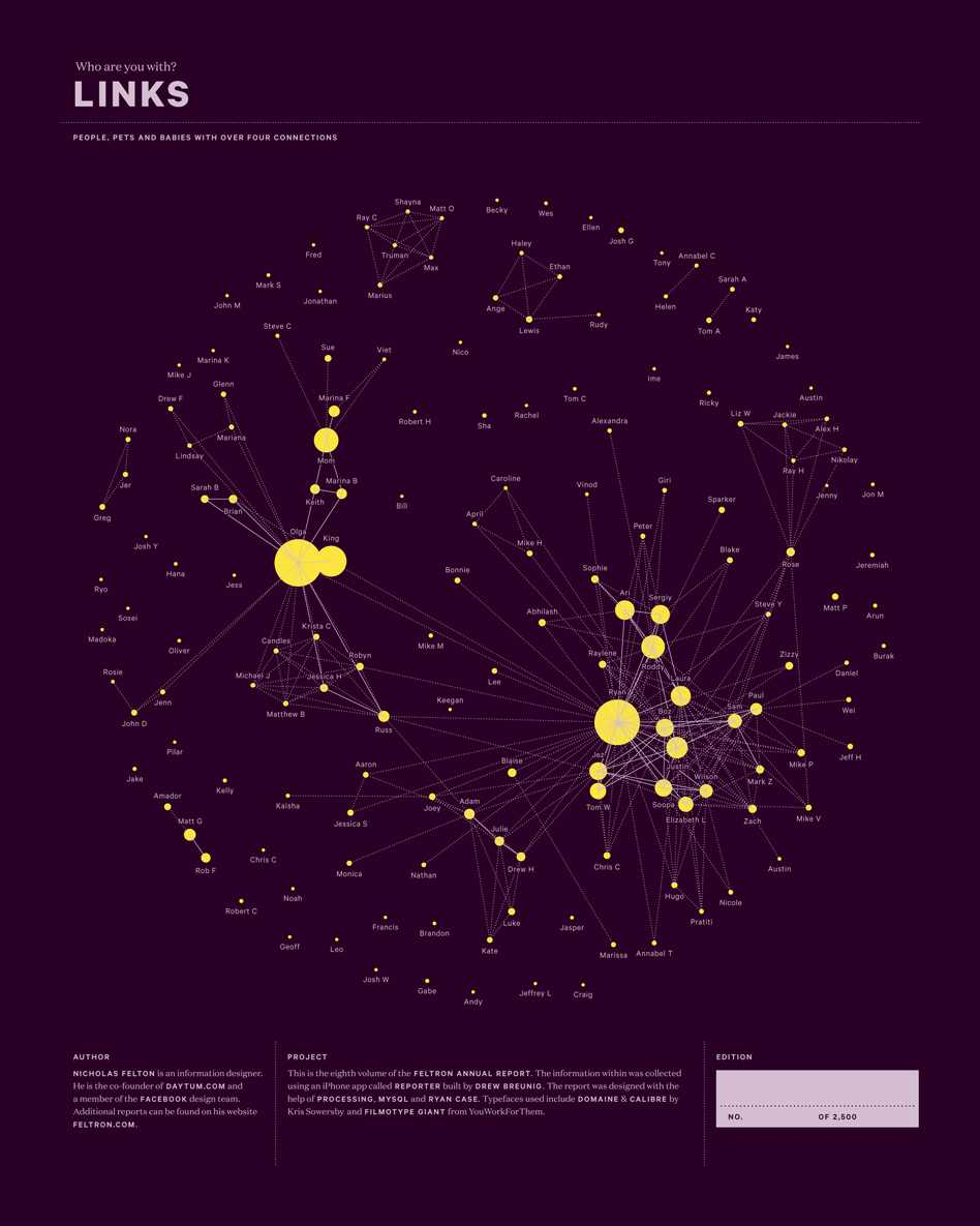 Feltron Annual Report - Cartographical Experiments  - 2 010 41