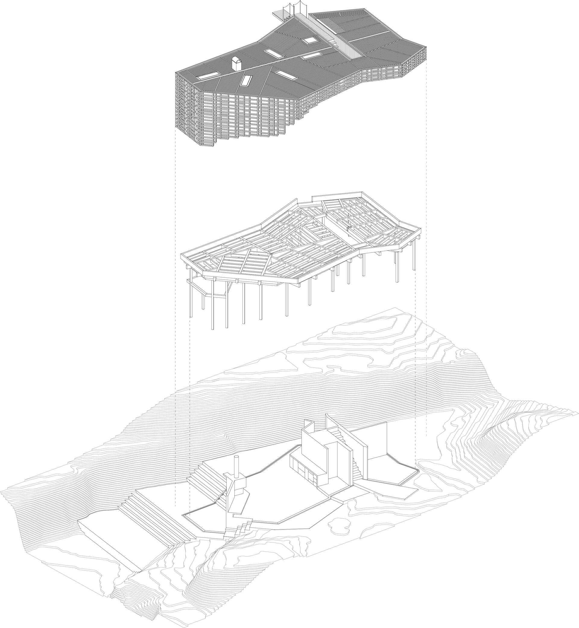 House on an island  - 31 8 52