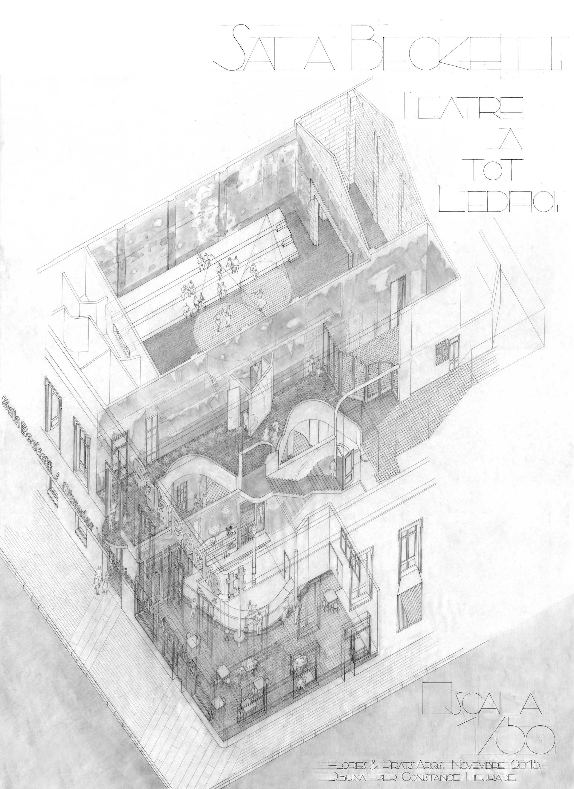 Sala Beckett  - 36 1 45