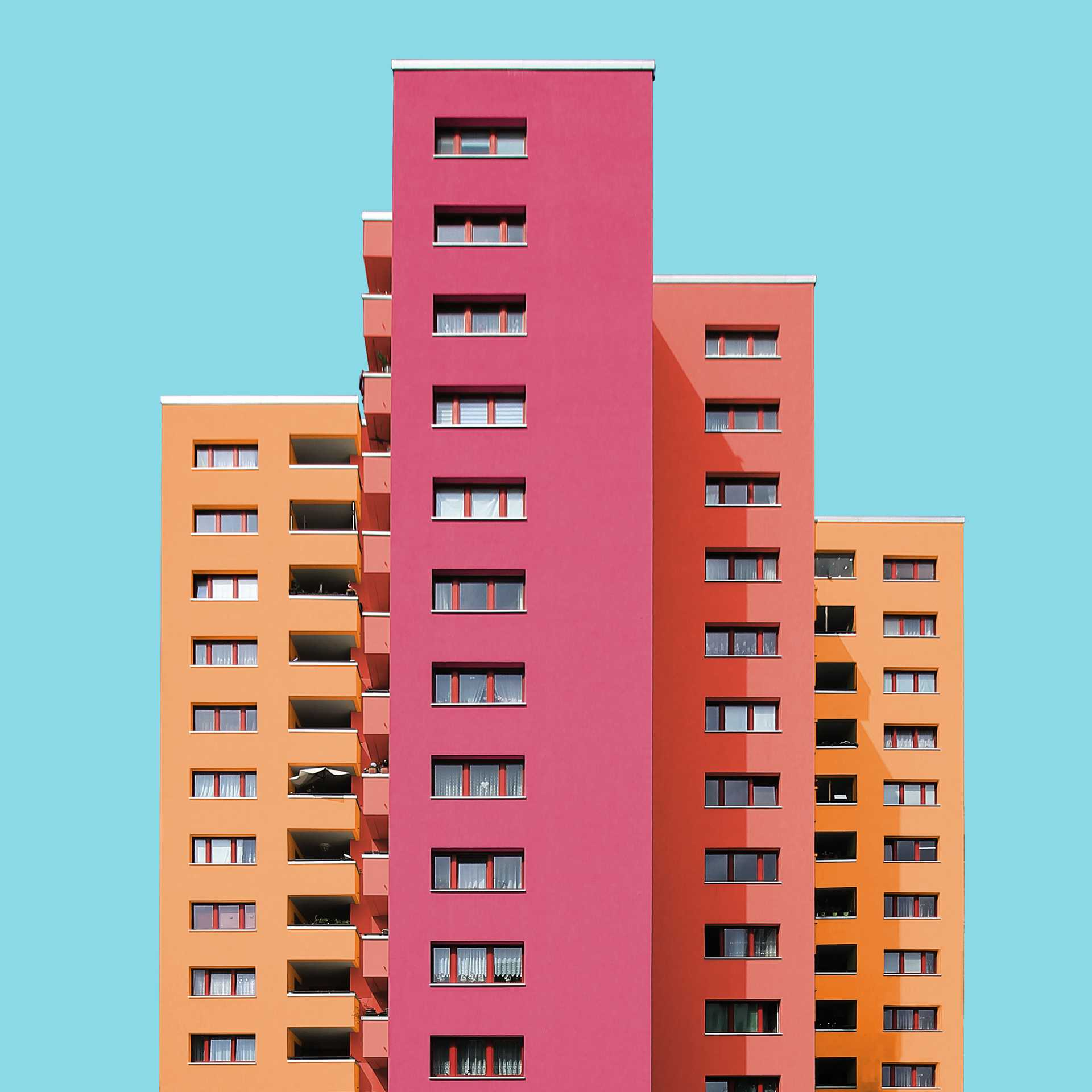 A Colorful Makeover of Architecture  - 55 3 37