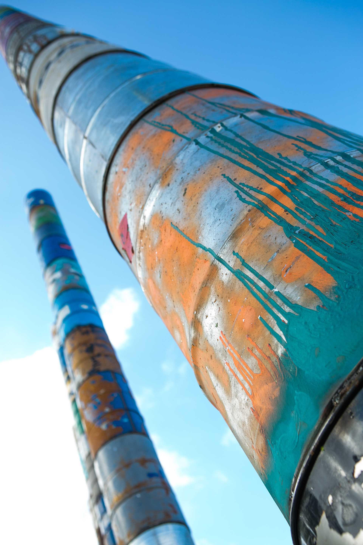 Conmemorative columns Barcelona Pavilion  - 63 02 32