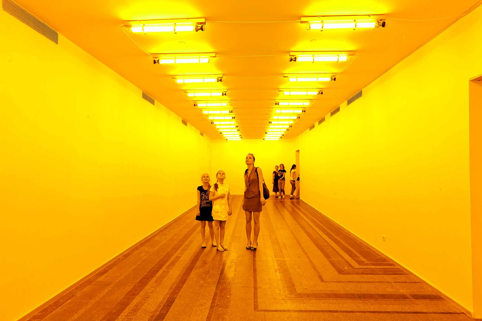 Olafur Eliasson: In Real Life  - 99 room for one colour 42