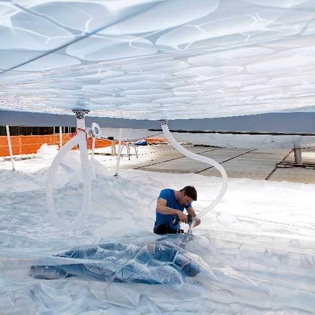 Inflatables Architectures  - Aarau VJA 003 Niklaus Spoerri 45