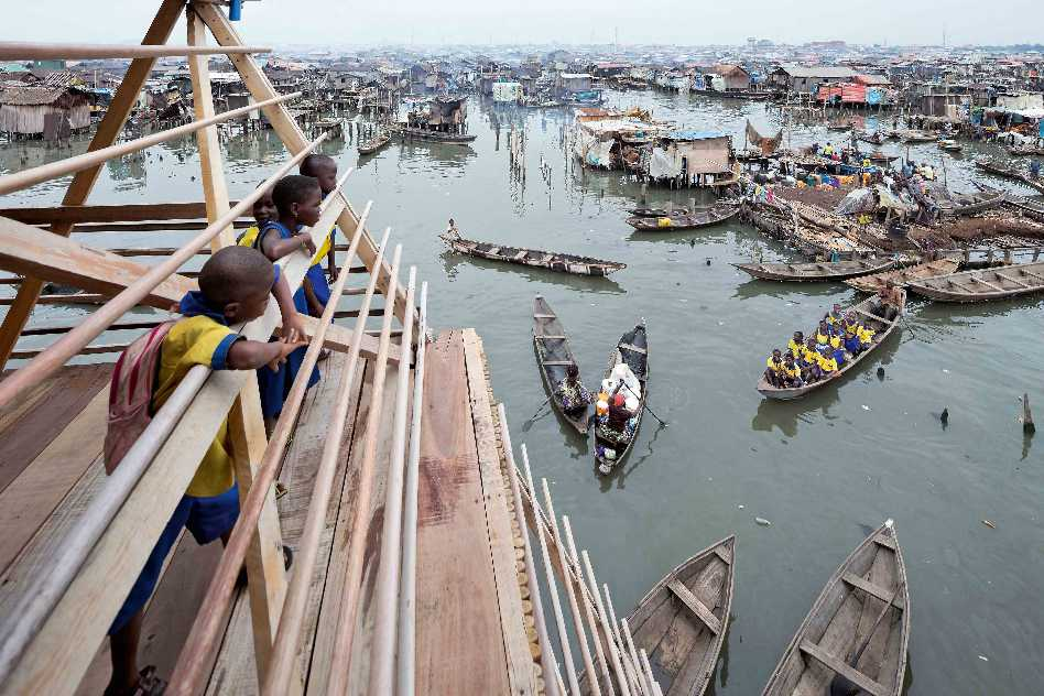 NLÉ, Floating School in Nigeria  - Floating School NLE 8091 38