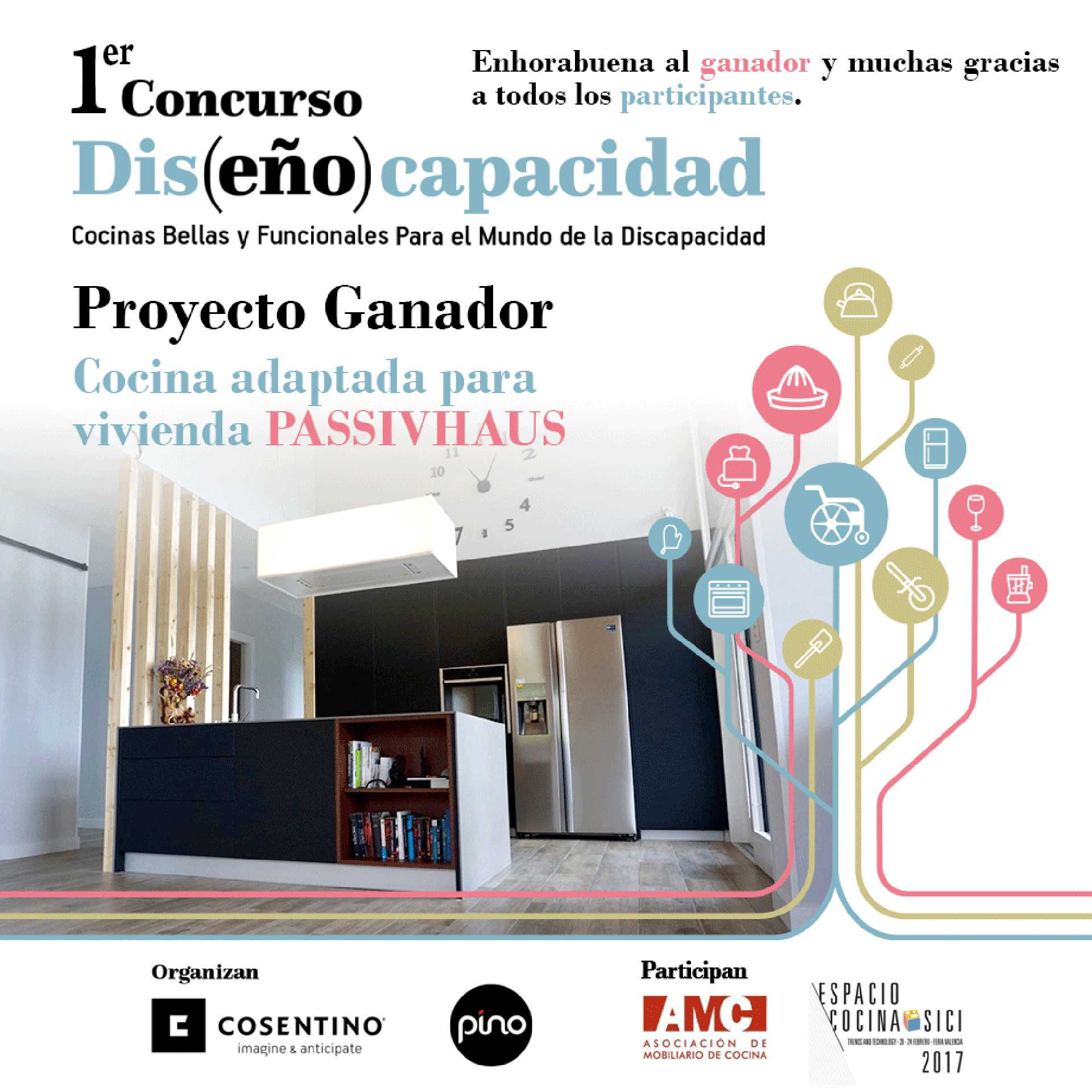 Inclusive Kitchens' Competition  - NOTICIA concurso cosentino 40