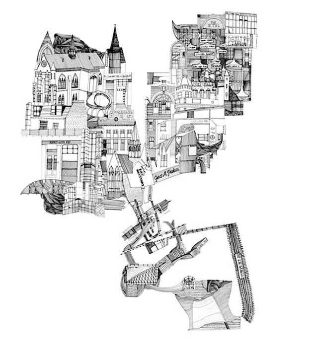 Drawing cities  - Nigel3 32