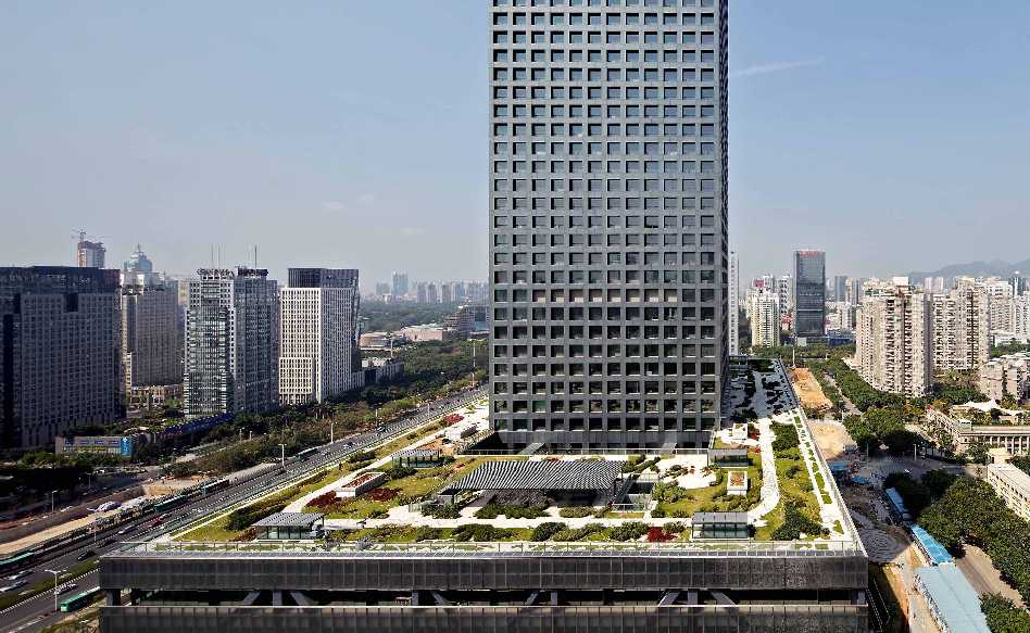 OMA in China  - SZSE roof garden cOMA Photography by Philippe Ruault 34