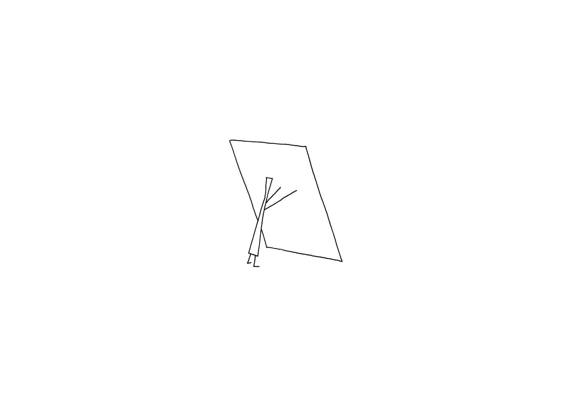 Nendo: Apoyo  - lean sketch 31