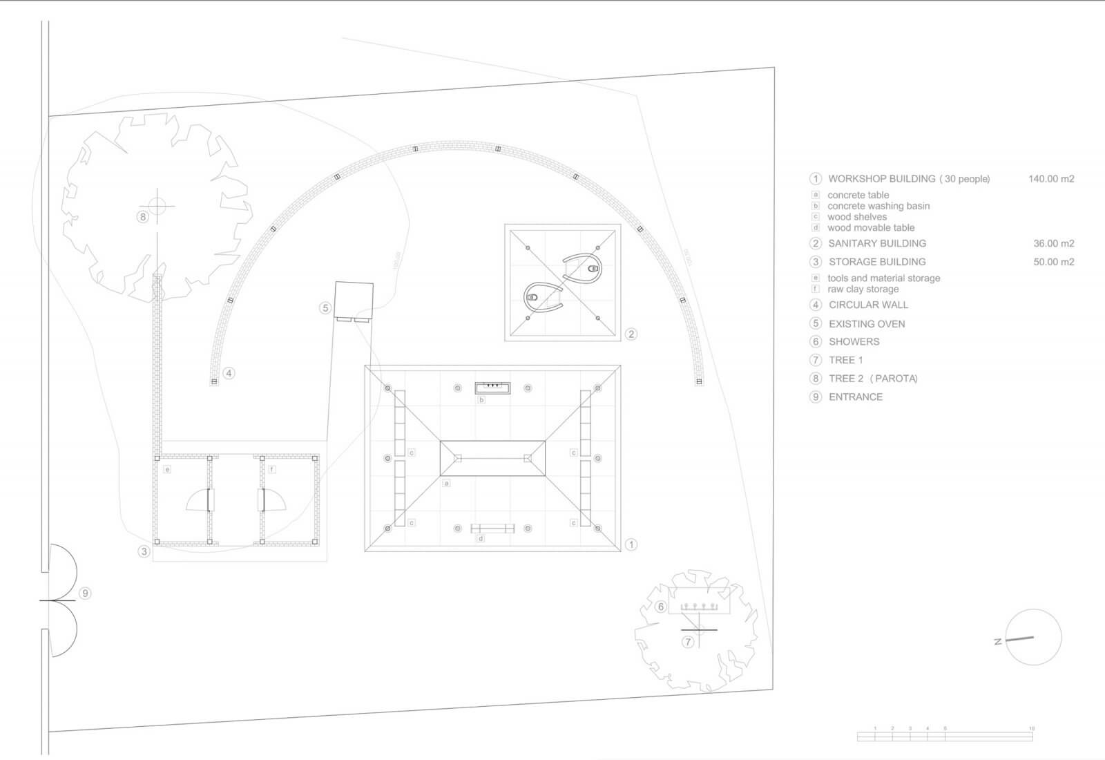 Clay Pavilion  - siza pabellon casa wabi mexico 11 33