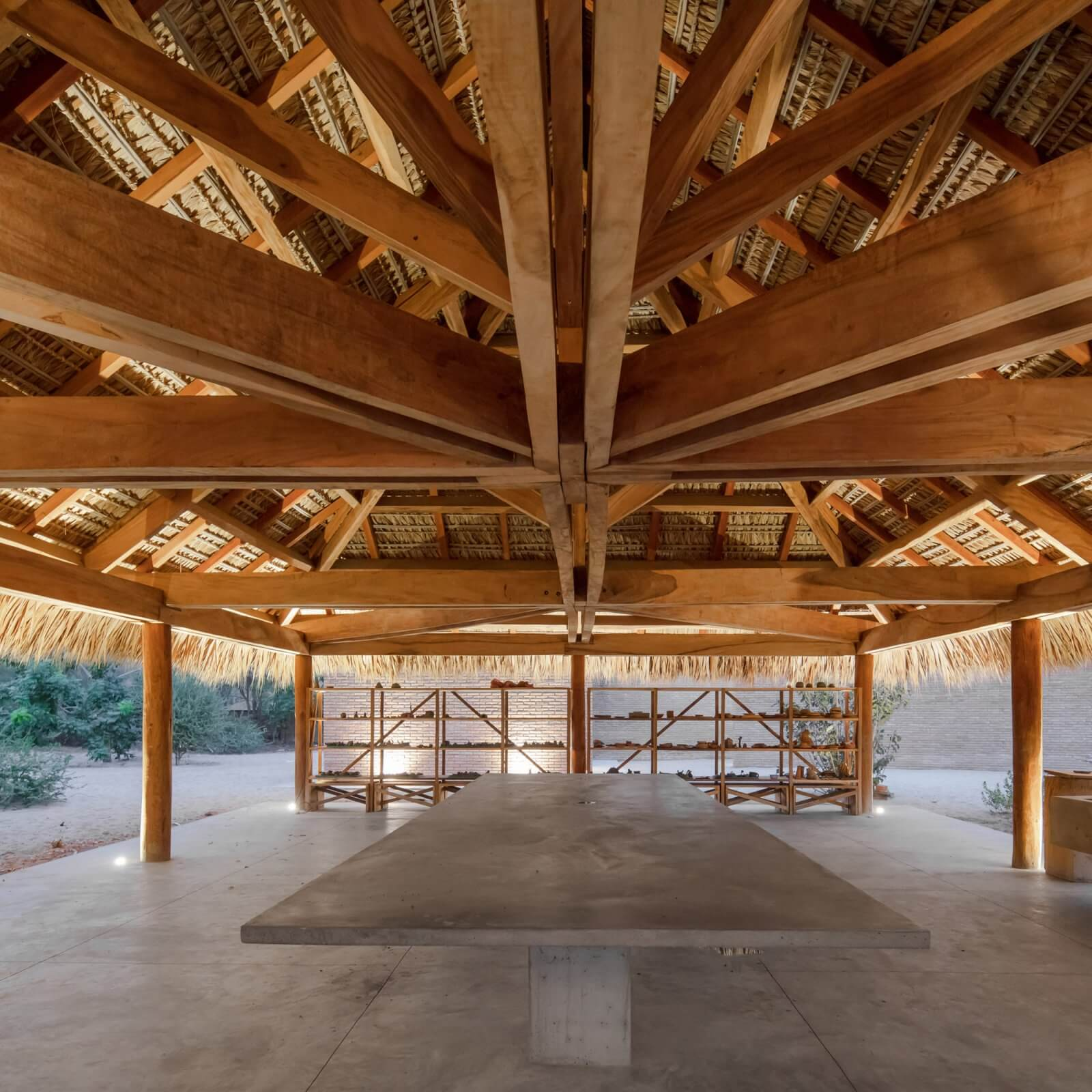 Clay Pavilion  - siza pabellon casa wabi mexico 7 47