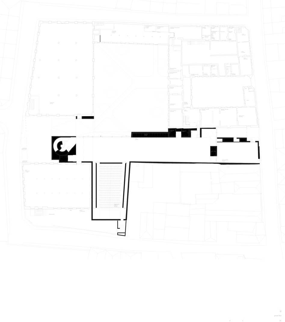 Architecture School in Tournai  - tournai ground floor 45