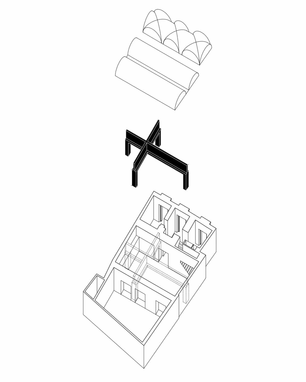 Nine Vaults  - 04 Axonometria 02 page 0001 44