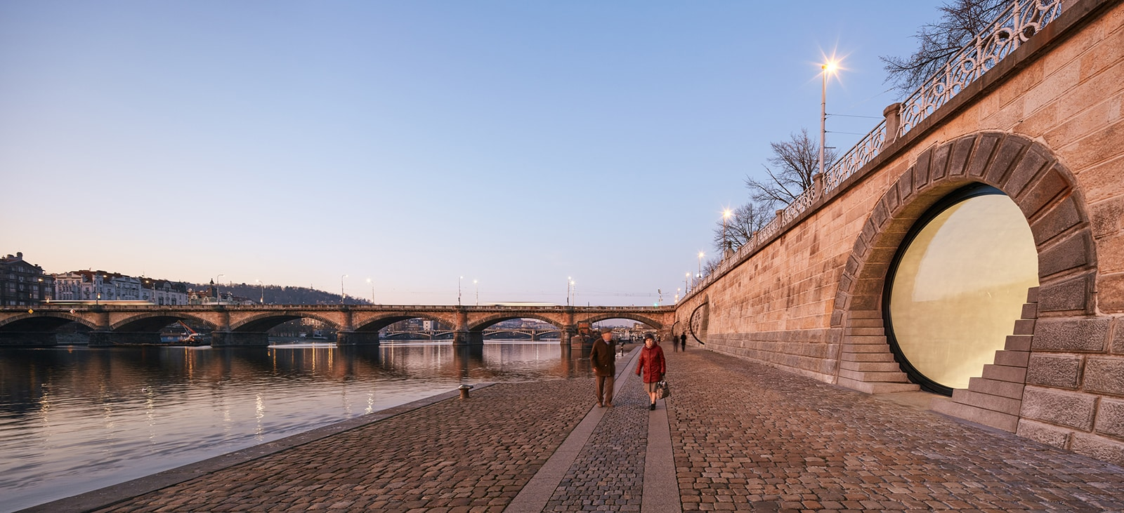 Revitalization of Prague's Riverfront  - 12 1 63