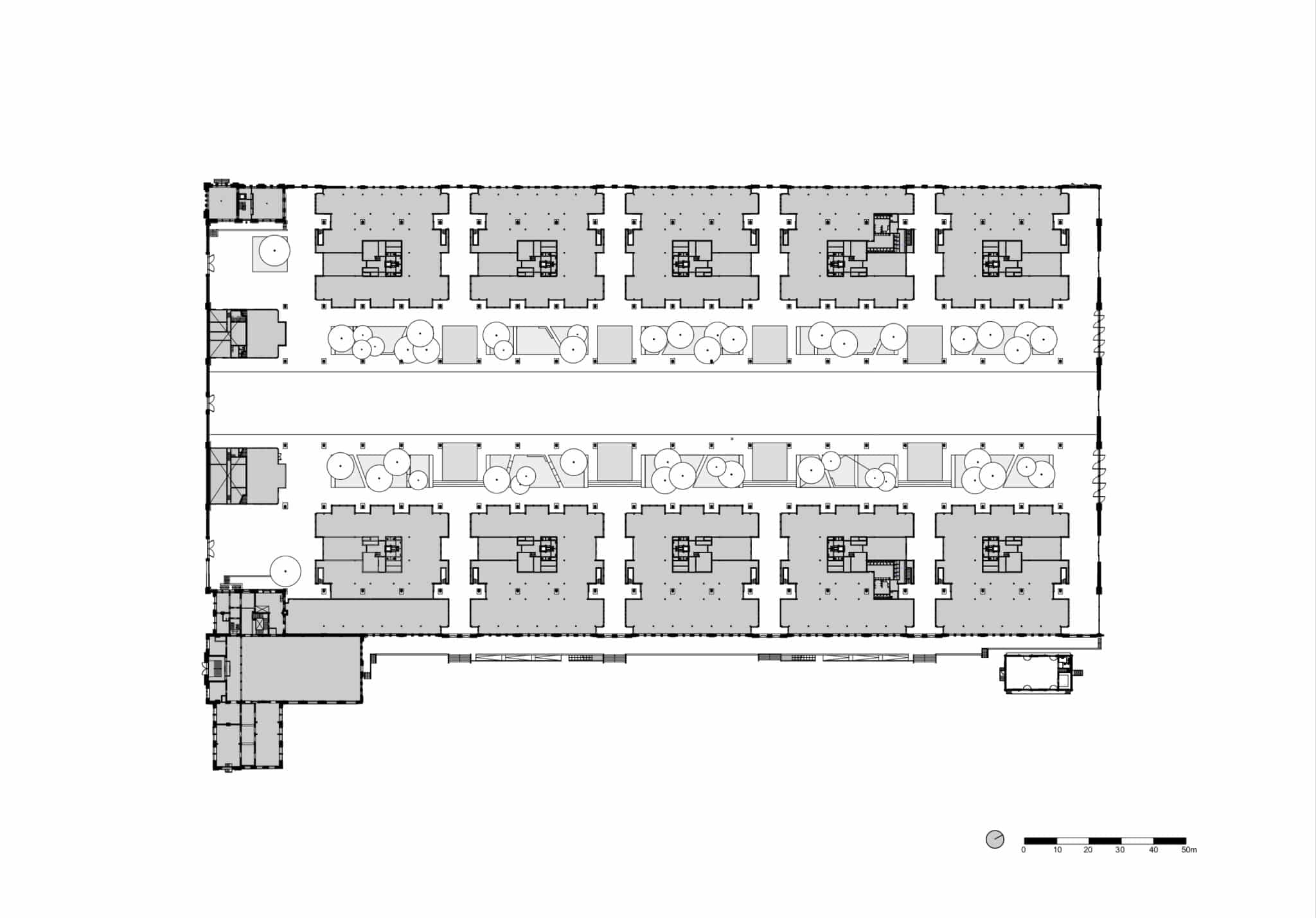 Gare Maritime Brussels  - Gare Maritime NeutelingsRiedijk PLG 00 floorplan BW page 0001 59