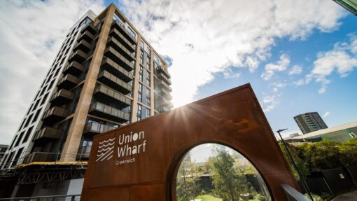 The skin of the structure  - Union Wharf3 35