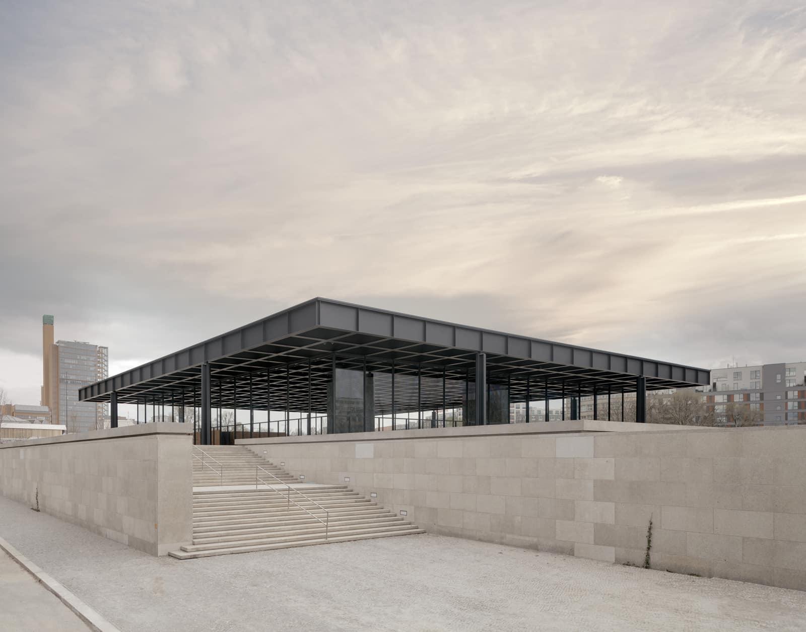 Neue Nationalgalerie Refurbishment  - 20210625 Chipperfield NeueNationalgalerieRefurbishment 02 33
