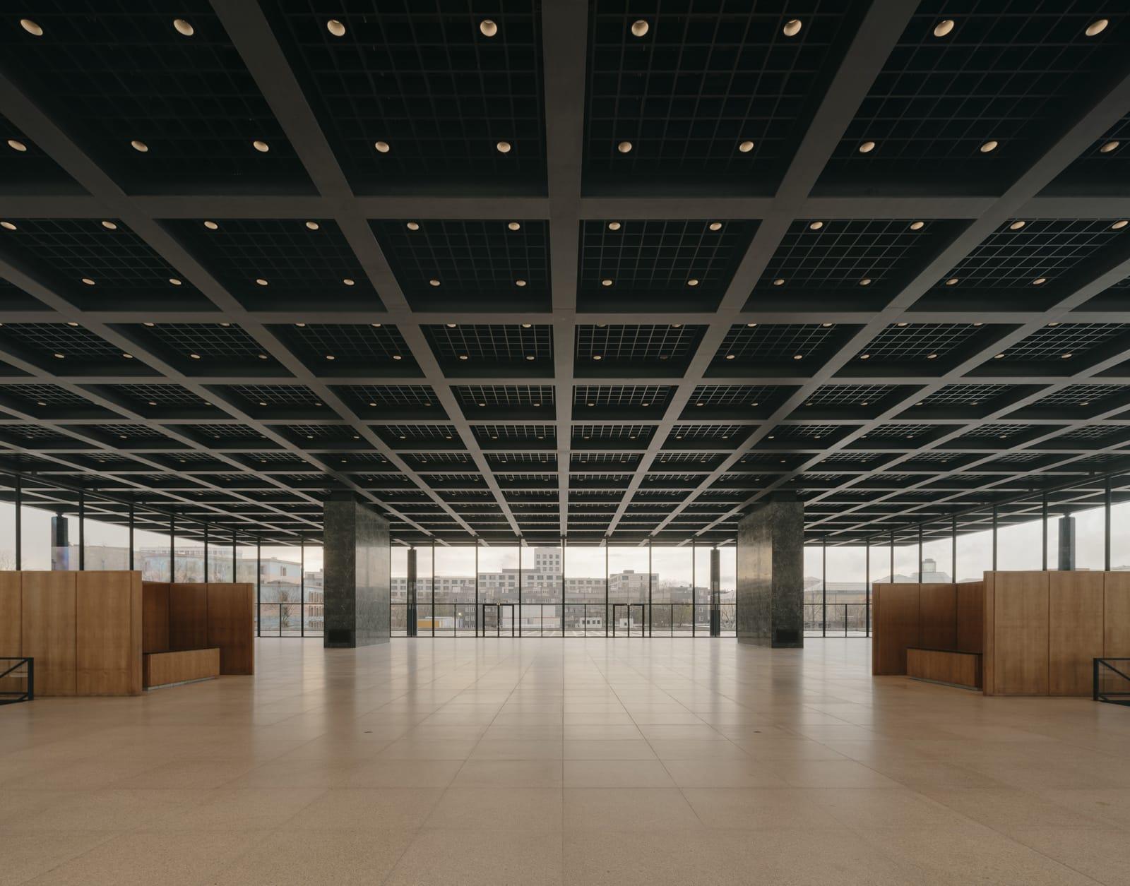 Neue Nationalgalerie Refurbishment  - 20210625 Chipperfield NeueNationalgalerieRefurbishment 05 39