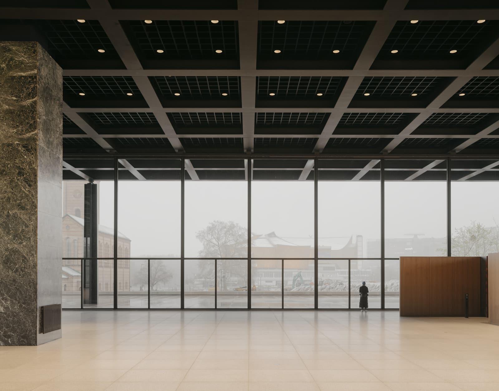 Neue Nationalgalerie Refurbishment  - 20210625 Chipperfield NeueNationalgalerieRefurbishment 06 41