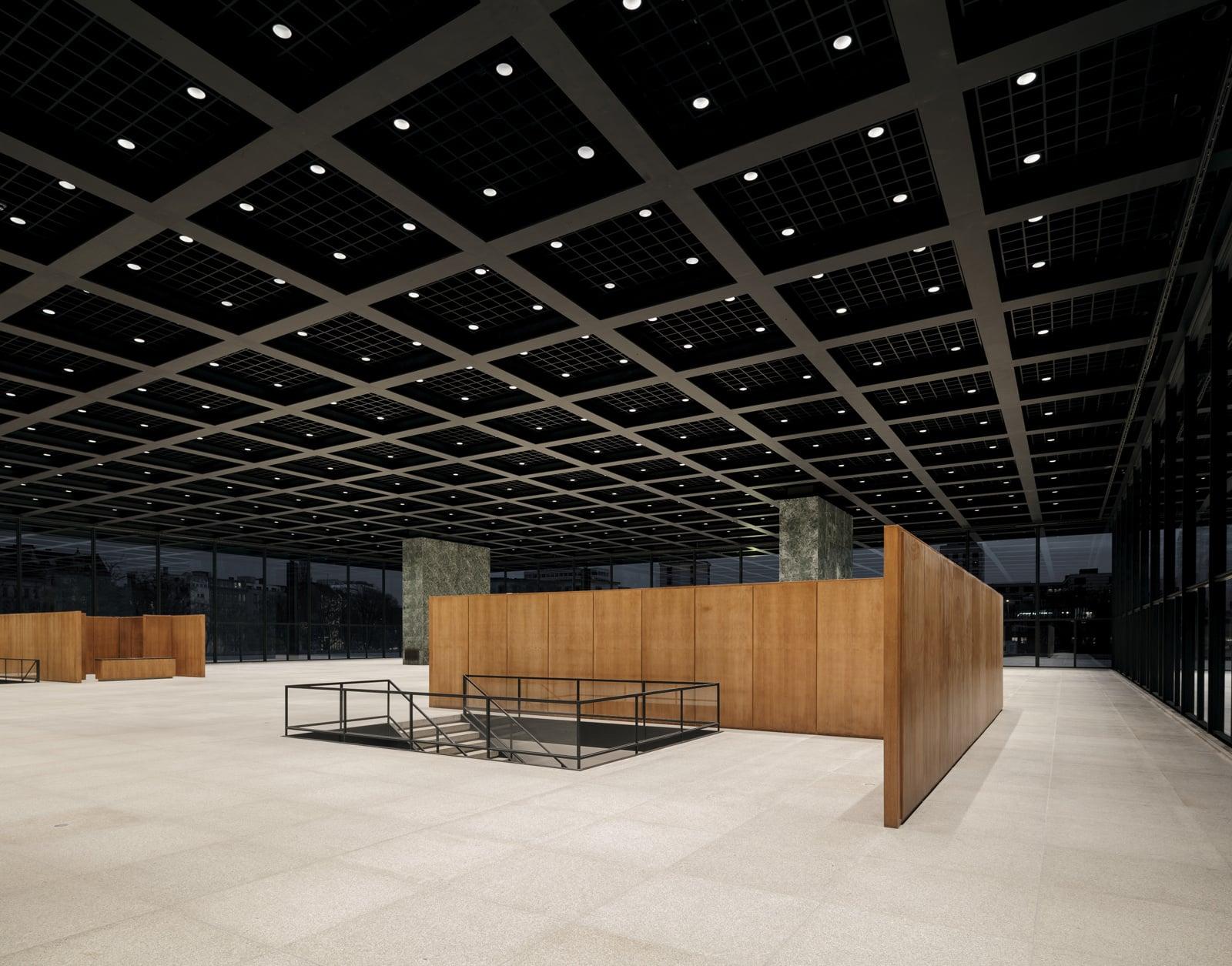 Neue Nationalgalerie Refurbishment  - 20210625 Chipperfield NeueNationalgalerieRefurbishment 07.2 45