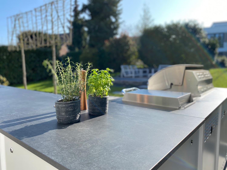 Exterior residential kitchen  - Belmento 3 63