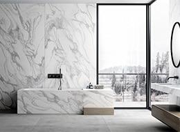 The Housebuilder Experience  - Dekton Bathroom Sky 1 44