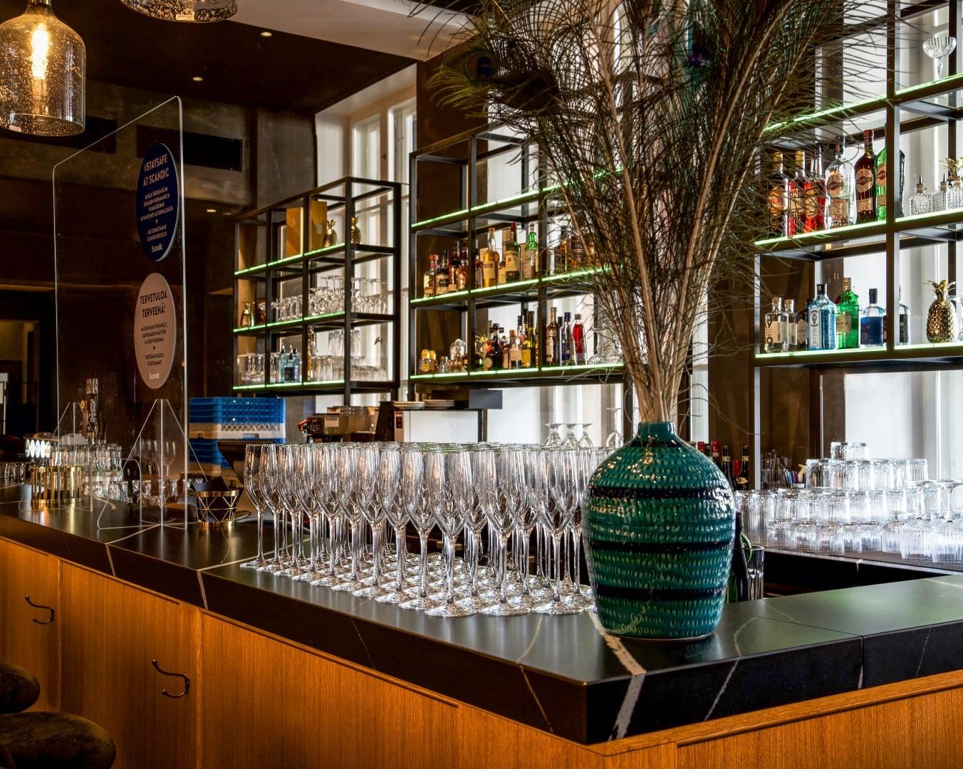 Hotel Scandic Grand Central Finland  - Cosentino casestudy hotel grand central interior3 DSC0558 53